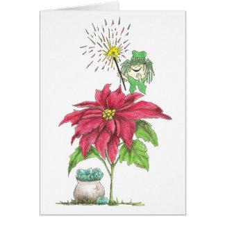 December Fairy Birthday Card