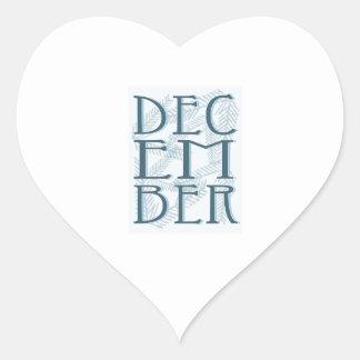 December Sticker