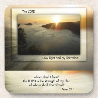 Deception Pass Psalm 37 Christian Coasters