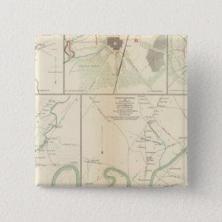Decherd, Manchester, Tullahoma, Jasper 15 Cm Square Badge