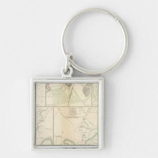 Decherd, Manchester, Tullahoma, Jasper Key Ring