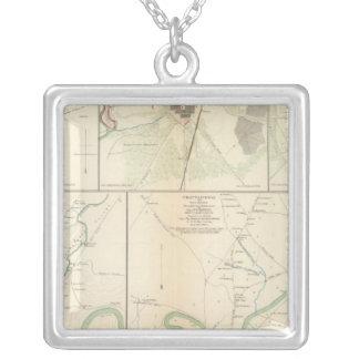 Decherd, Manchester, Tullahoma, Jasper Silver Plated Necklace