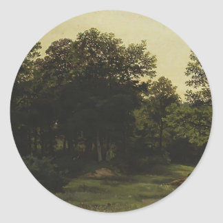 Deciduous Forest by Ivan Shishkin Stickers
