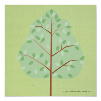 Deciduous Tree Print