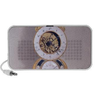 Decimal and duodecimal clock mp3 speaker