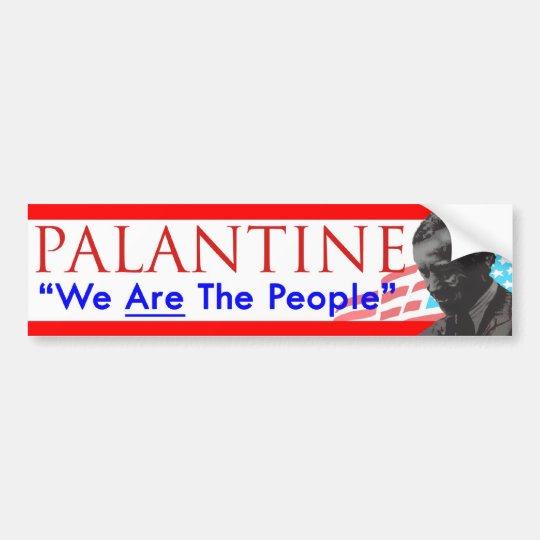 Decision 2012 Vote Palantine We Are the People