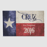 Decision 2016 - Ted Cruz (R-TX) for President! Rectangle Stickers