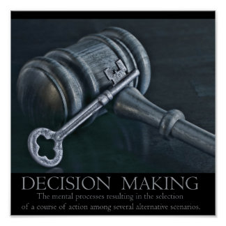 Decision Making Poster