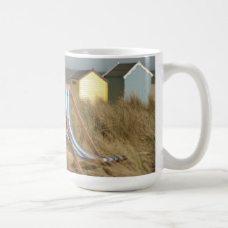 Deck Chair And Beach Huts | Southwold, Suffolk Coffee Mug