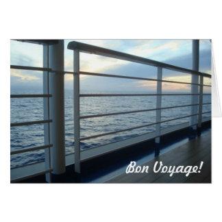 Deck Level View Bon Voyage Card