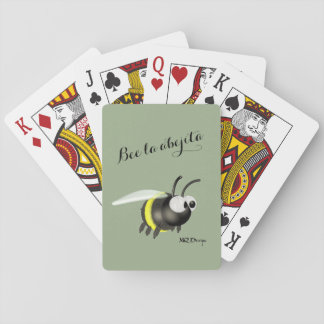 Deck of Bee poker Playing Cards
