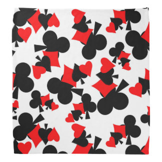 deck of cards bandana