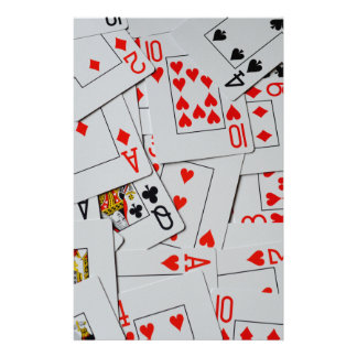 Deck_Of_Cards,_ Customised Stationery