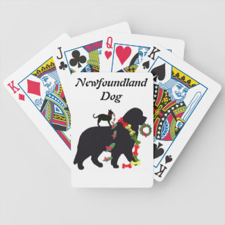 Deck of Cards~ Newfoundland Dog Bicycle Playing Cards