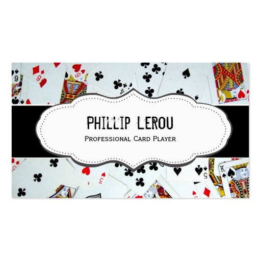 Deck of Playing Cards Business Cards