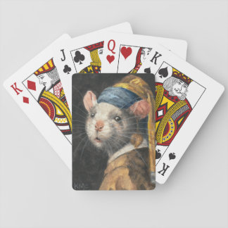 Deck of Playing Cards Rat with a Yogie Earring