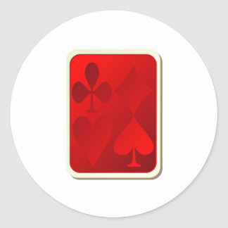 Deck of Playing Cards Stickers