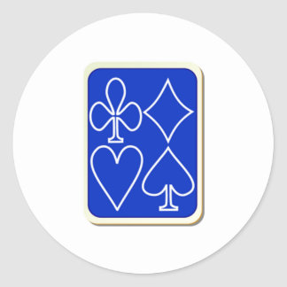 Deck of Playing Cards Sticker