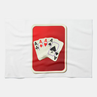 Deck of Playing Cards Tea Towel