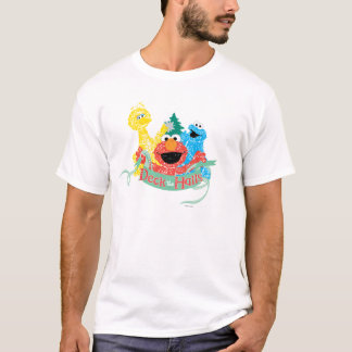 Deck the Hall Sesame Street T-Shirt