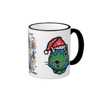 Deck the Hall with Lots of Body Slams Coffee Mugs