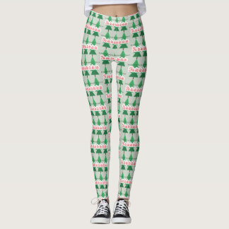 DECK THE HALLS WITH BOUGHS OF HOLLY LEGGINGS
