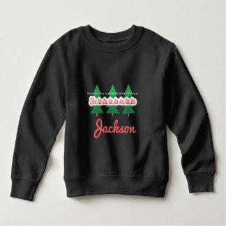 DECK THE HALLS WITH BOUGHS OF HOLLY SWEATSHIRT