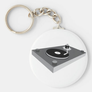 decks basic round button key ring