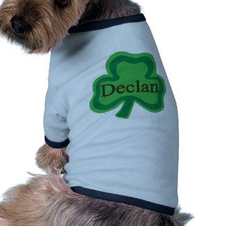 Declan Irish Pet Tshirt