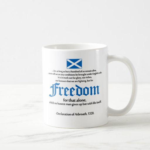 declaration of arbroath Coffee Mug