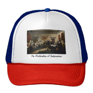 Declaration of Independence 1776 Cap