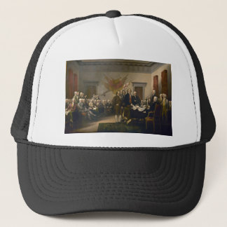 Declaration of Independence by John Trumbull Trucker Hat