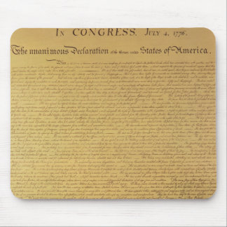 Declaration of Independence Mouse Mat