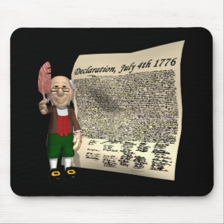 Declaration Of Independence Mouse Pad