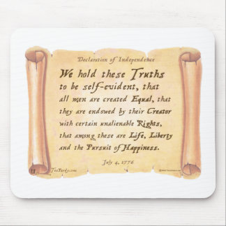 Declaration of Independence Mousepads