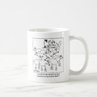 Declaring Goats as Dependents Basic White Mug