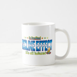 Decline Effect Dr. B Head Basic White Mug