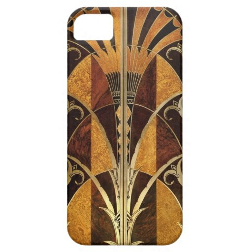 Deco 1920s design iPhone 5/5S cover