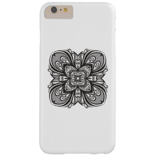 Deco Black Square Inspired Barely There iPhone 6 Plus Case