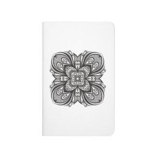 Deco Black Square Inspired Journal