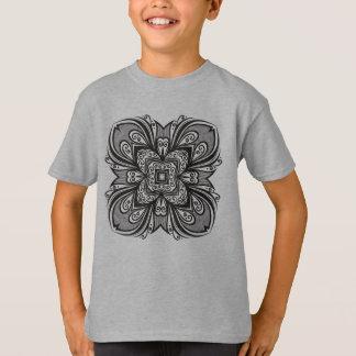Deco Black Square Inspired T-Shirt