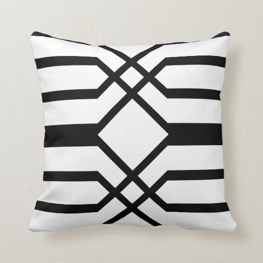 Deco Crest Double, Throw Pillow