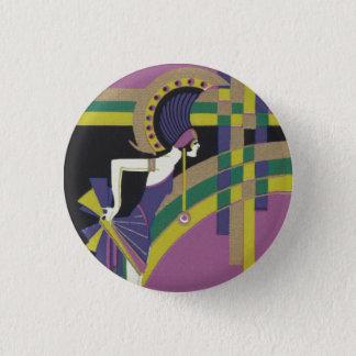 Deco Dancing Girl Badge