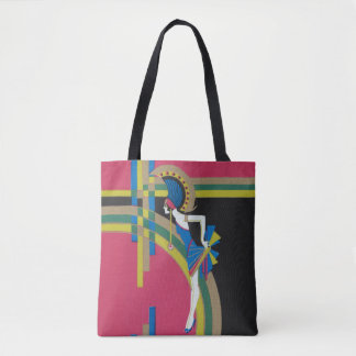 Deco Dancing Tote Bag