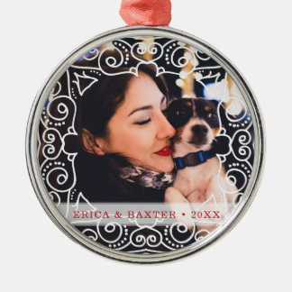 Deco Frame Photo Christmas Ornament