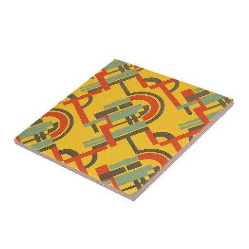 Deco Gold Geo Tiles