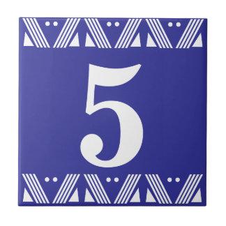 Deco Number Tile
