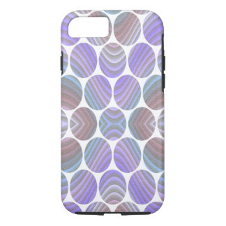 Deco Purple - Apple iPhone 7, Tough Phone Case