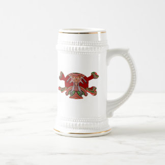 Deco Skull - Bull Alien and Colorful Graphics Coffee Mugs
