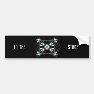 Deco Star Bumper Sticker